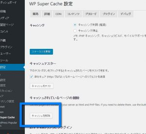 WP Super cash画面