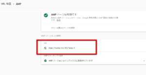 AMP バージョンの詳細
