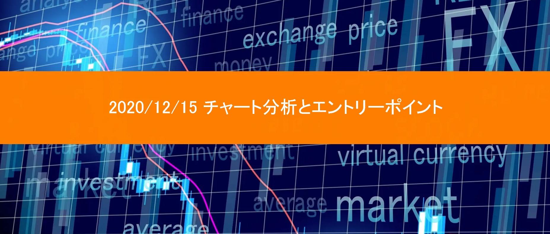2020/12/15チャート分析とエントリーポイント